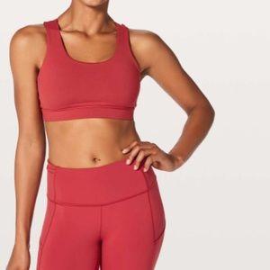 lululemon athletica Intimates & Sleepwear - NEW • Lululemon • Energy Sports Bra Persian Red 10